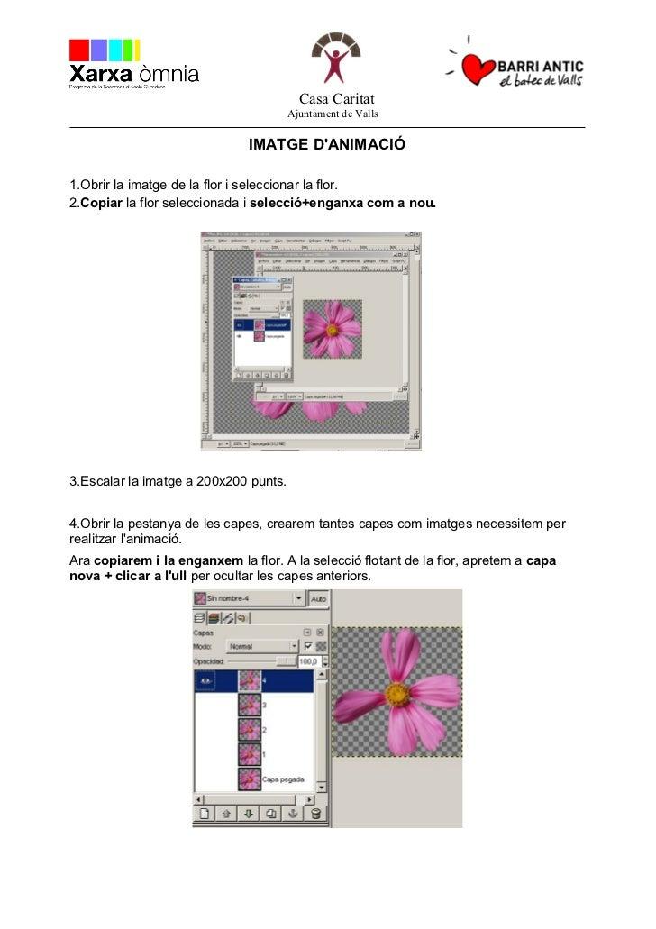 GIMP - Animació gif.