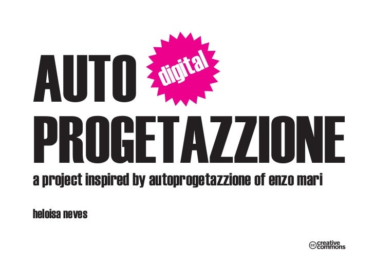 AUTO                   d   i git alPROGETAZZIONEa project inspired by autoprogetazzione of enzo mariheloisa neves