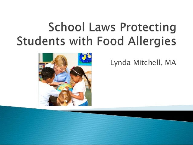 School Laws Protecting Students with Food Allergies