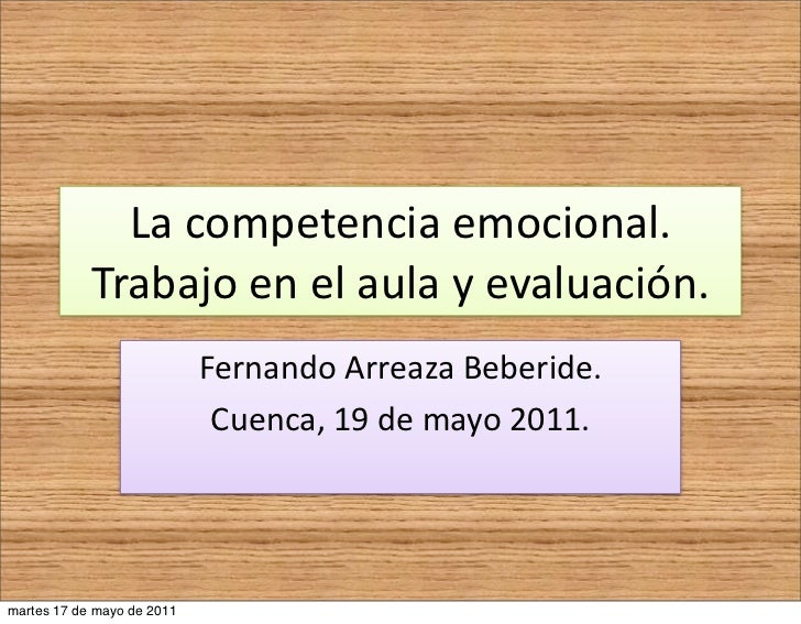 La Competencia Emocional