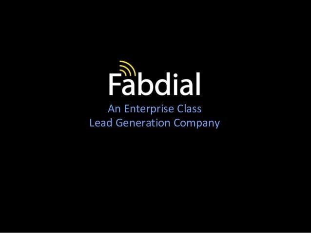 Fabdial   solution brochure