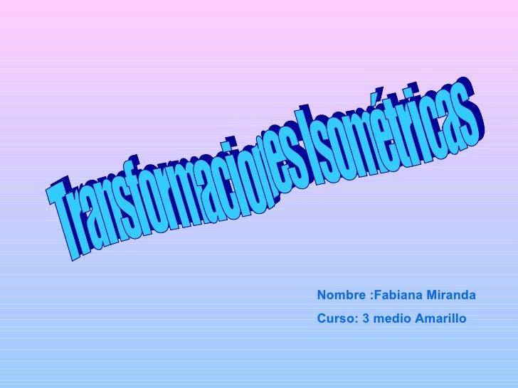 Fabiana nycole