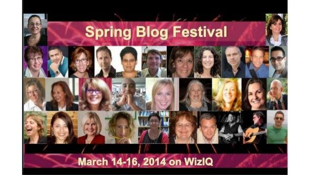 Why Do I Blog? By Fabiana Casella