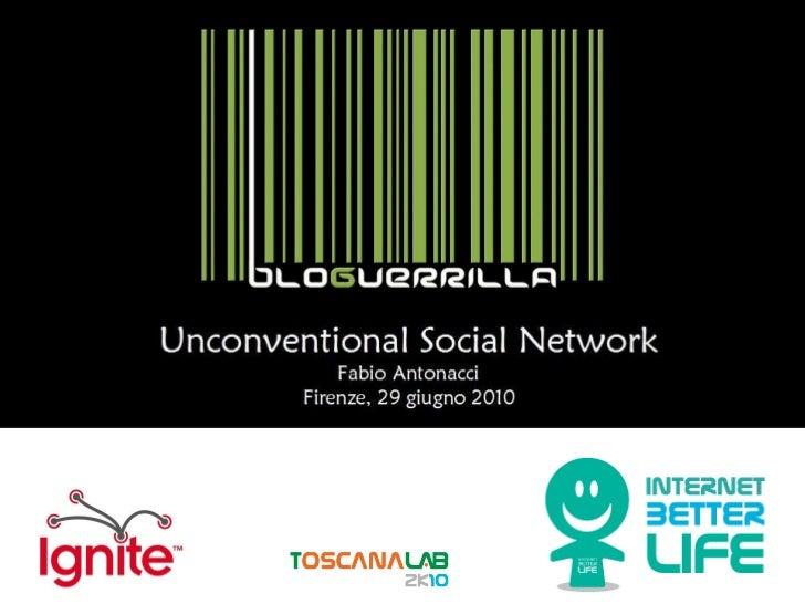 Fabio Antonacci - Unconventional Social Network