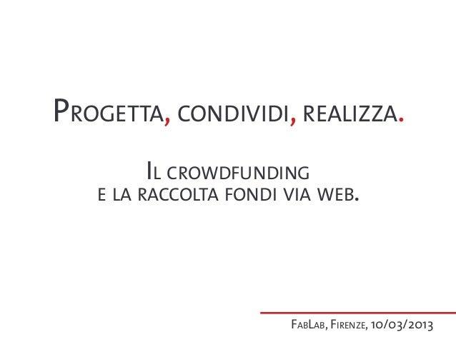 Fablab Firenze 10/03/2013