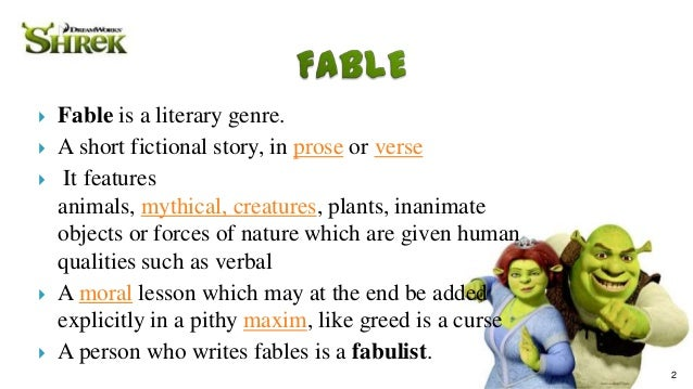 examples of fable Here are many examples of short stories for you to read online online has become another leg in our life we have to take that into account so that we will go along.