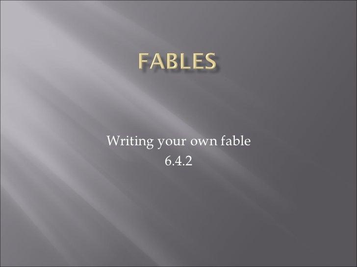 Hemrick slideshare for Fables 6.4.2