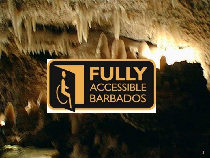 Fully Accessible Barbados Presentation 2009