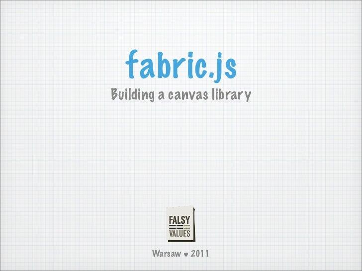 Fabric.js @ Falsy Values