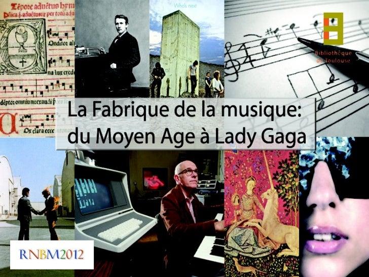 20 mars 2012       Fabrique de la musique :      accueil de classe musicale                                Amandine Minnar...