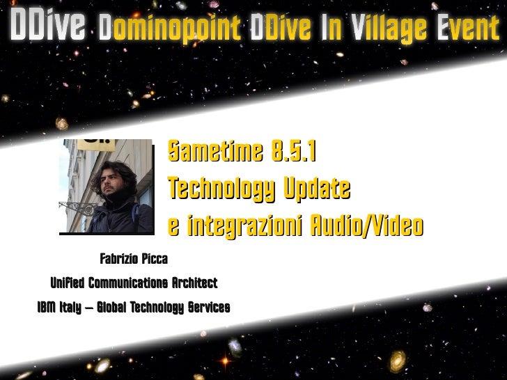 DDive -  Sametime e integrazione av