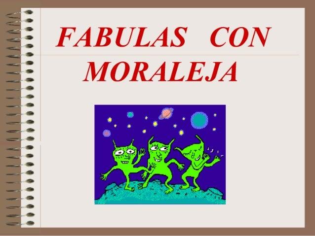 fabulas y moralejas
