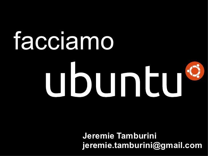 Linux Day 2010: Facciamo Ubuntu