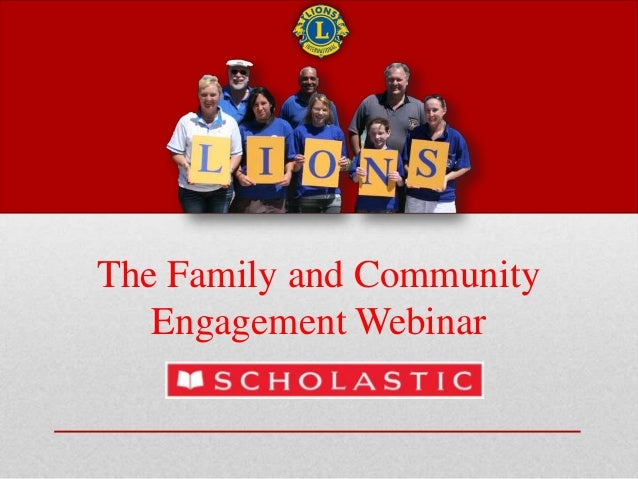 The Family and Community Engagement Webinar