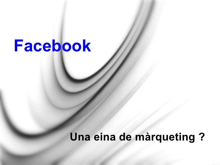 Ús de Facebook per empreses