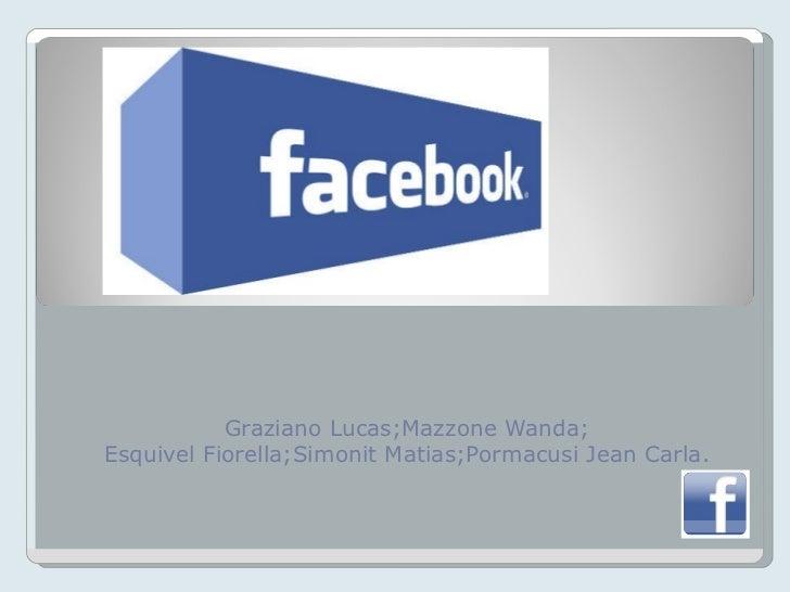 Graziano Lucas;Mazzone Wanda; Esquivel Fiorella;Simonit Matias;Pormacusi Jean Carla.