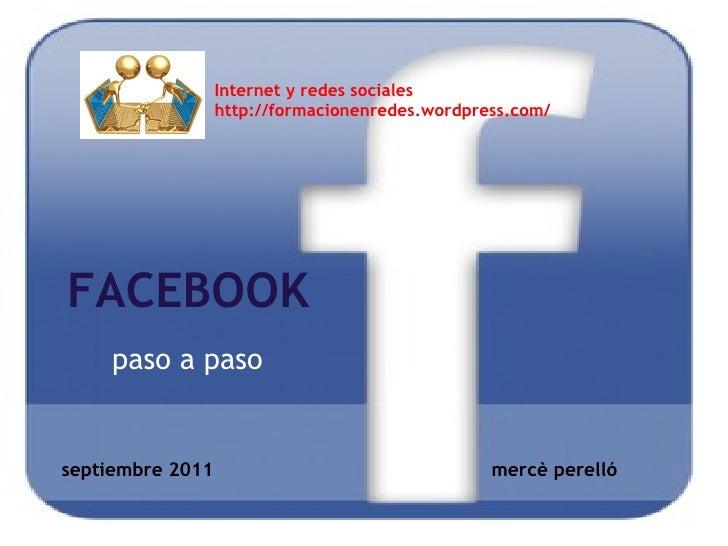 Facebook-paso a paso
