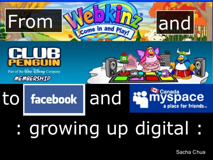 From and to : growing up digital : and Sacha Chua