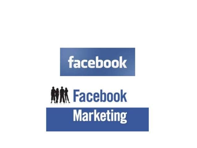 Facebook, facebook marketing