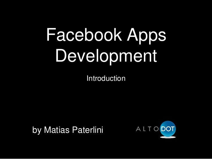 Facebook Apps - PHP Developers Group