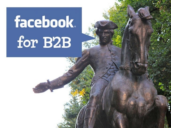Using Facebook for Effective  B2B Marketing