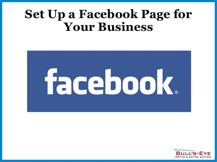 Set Up a Facebook Page for Your Business