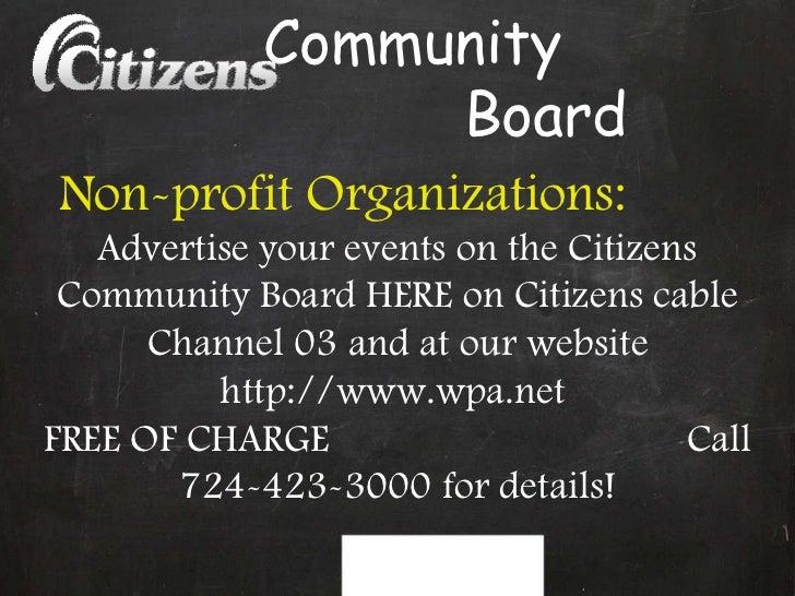 Facebook  Community  Board