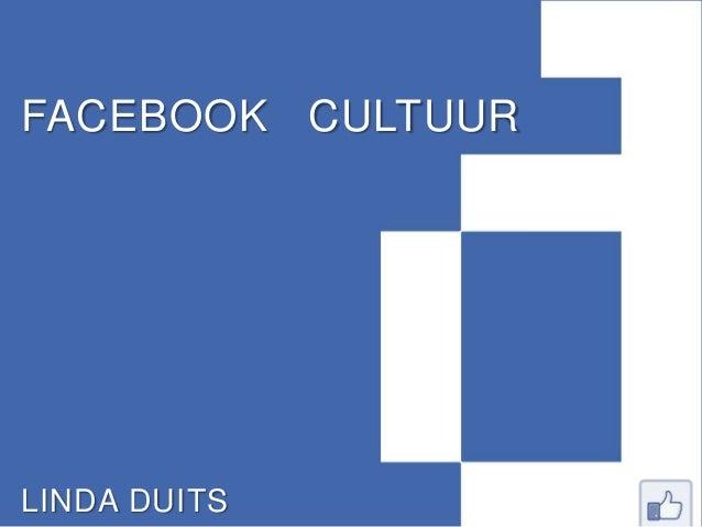 FACEBOOK CULTUURLINDA DUITS