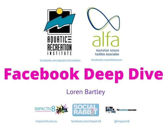 Facebook Deep Dive ARI Conference