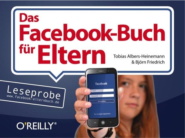 """""""Das Facebook-Buch für Eltern"""" (Leseprobe)"""
