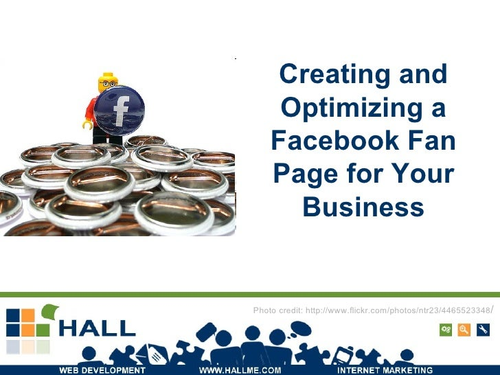 Creating and Optimizing a Facebook Fan Page for Your Business