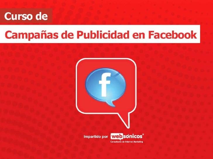 Entrenamiento de Publicidad en Facebook