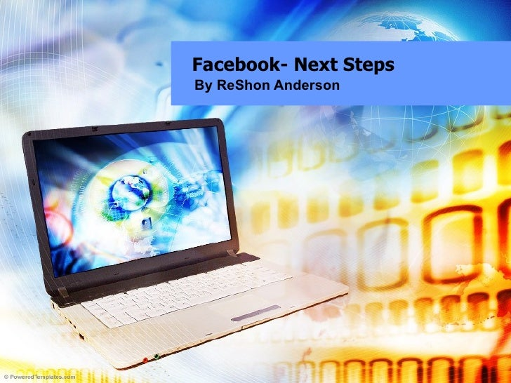 Facebook- Next Steps By ReShon Anderson