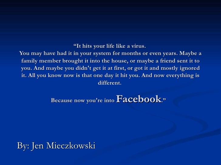 Facebook Power Point