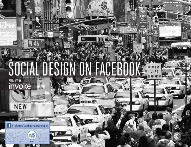 SOCIAL DESIGN ON FACEBOOKPREPARED BY