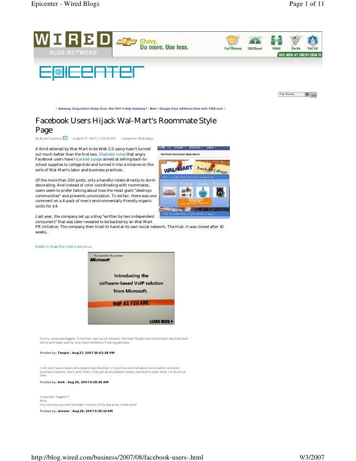 Epicenter - Wired Blogs                                                                                                   ...