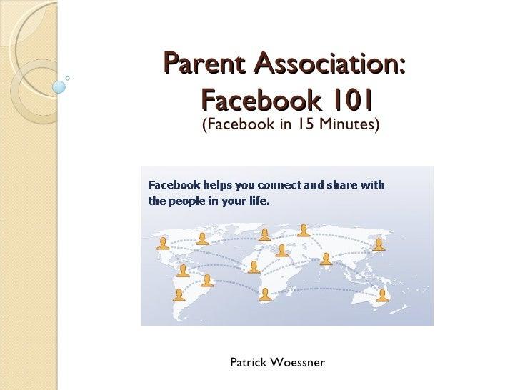 Facebook 101
