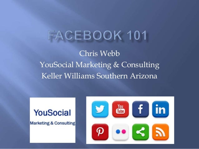 Chris Webb YouSocial Marketing & Consulting Keller Williams Southern Arizona