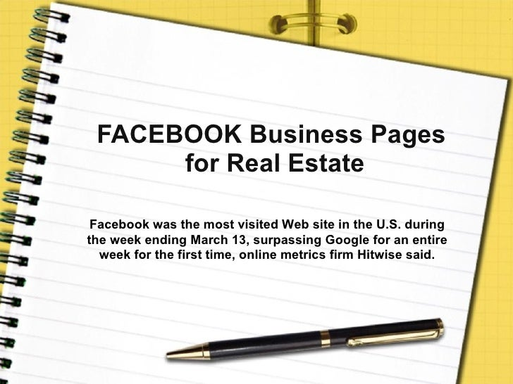 Facebook Business Page 101