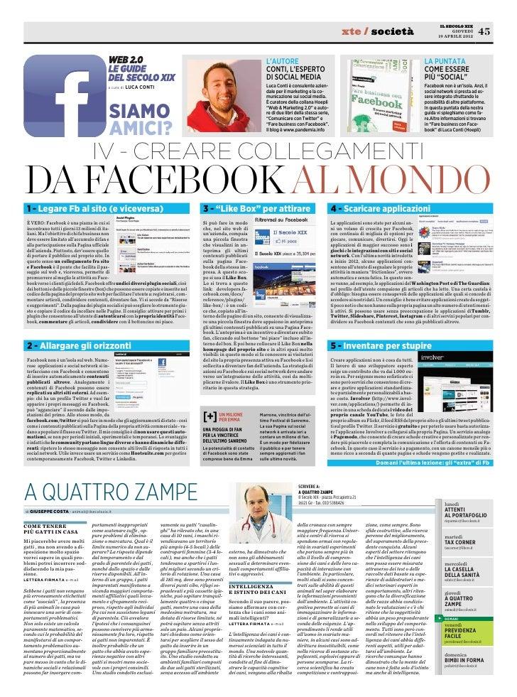 Guida a Facebook 4° puntata