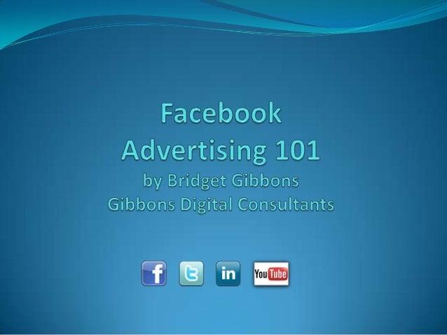 Facebook Advertising 101 - Spring 2014