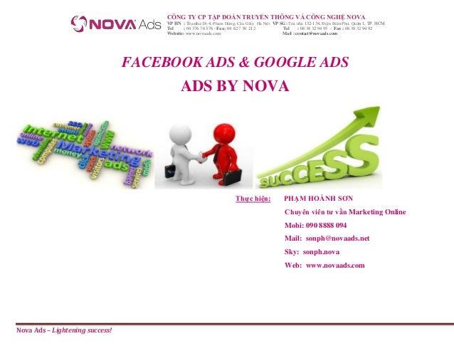 Facebook ads & google ads