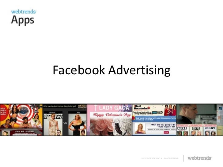 Facebook Masters Training - Facebook Advertising from Webtrends