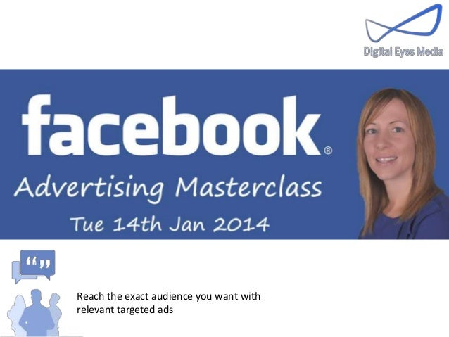 Digital Eyes Media - Facebook ads masterclass