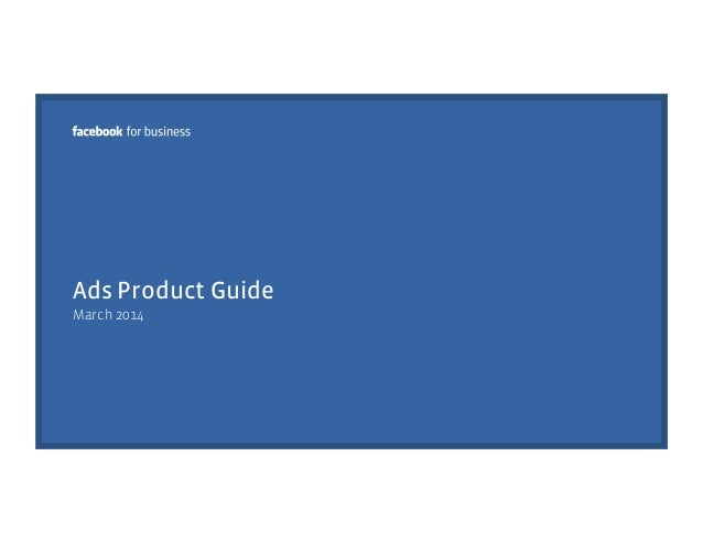 Ads Product Guide March 2014