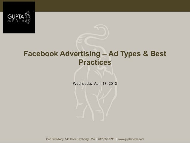 Social Advertising: Best Practice for Facebook Ads