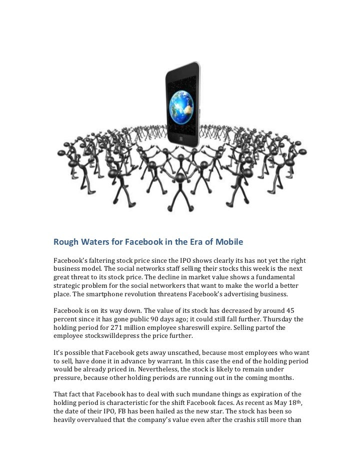 Facebook and google in rough waters in the era of mobile and interest networks