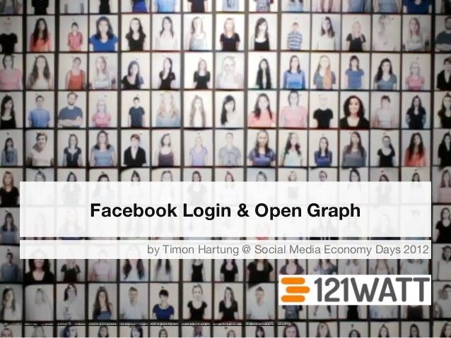 Facebook Login und Open Graph
