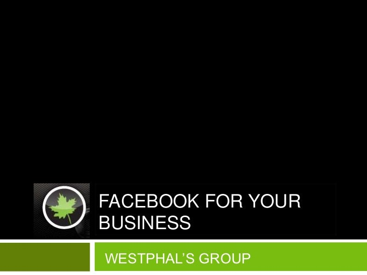 Lunch N' Learn Facebook for your small business