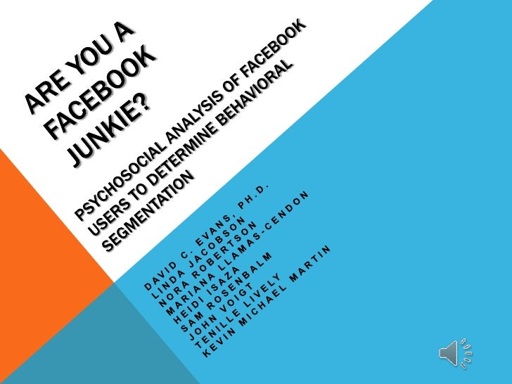 MCDM Screen Summit:  Com 529 Facebook Behavior Study